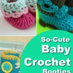 Baby Crochet Booties - Free Crochet Patterns